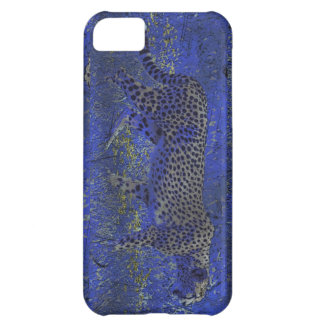 Cheetah at Night Wildlife Art iPhone 5 Case