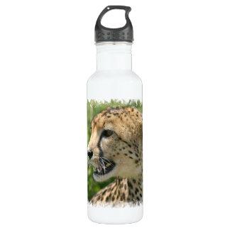Cheetah Attack 24oz Water Bottle