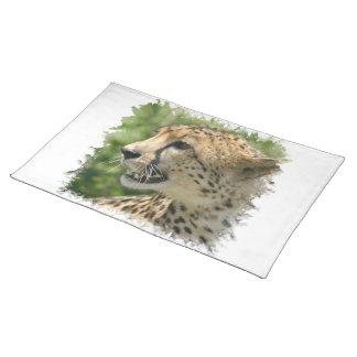 Cheetah Attack Placemat