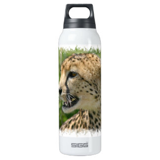 Cheetah Attack 16 Oz Insulated SIGG Thermos Water Bottle