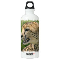 Cheetah Attack Water Bottle