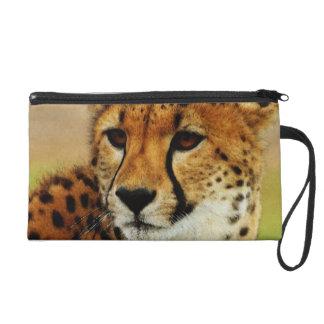 Cheetah Wristlet