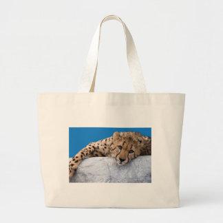Cheetah Jumbo Tote Bag