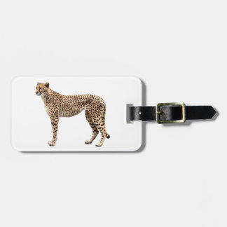 Cheetah Bag Tag