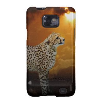 Cheetah beauty and sunset samsung galaxy s2 covers