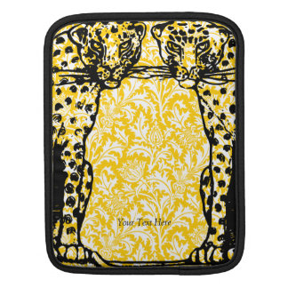 Cheetah Big Cat Art Deco Style iPad Sleeve