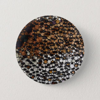 Cheetah Bling Art Decor Pinback Button