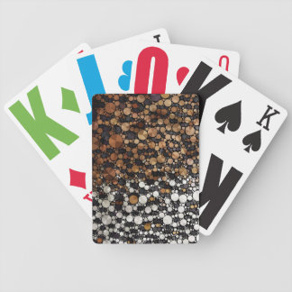 Cheetah Bling Art Decor Bicycle Poker Deck