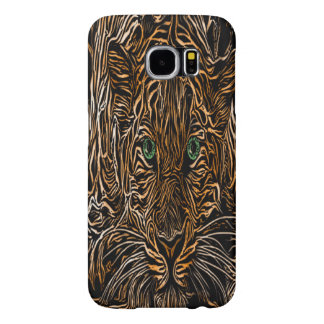 Cheetah Burnt Wood named Meranda Samsung Galaxy S6 Case