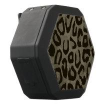 Cheetah Camouflage Black Bluetooth Speaker