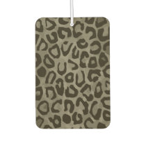 Cheetah Camouflage Car Air Freshener