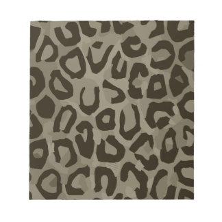 Cheetah Camouflage Notepad