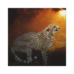 Cheetah Canvas Prints