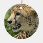 Cheetah Cat Ornament