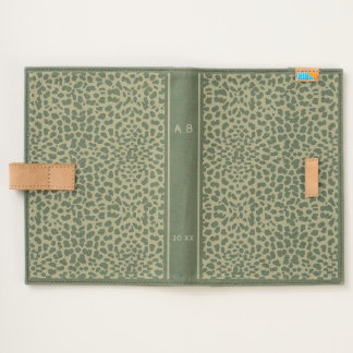 Cheetah Cat Print Pattern Journal