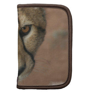 Cheetah Cat  Wallet Folio Planner
