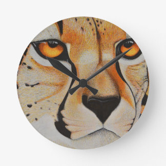 Cheetah Clock
