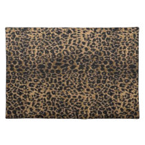 Cheetah Cloth Placemat