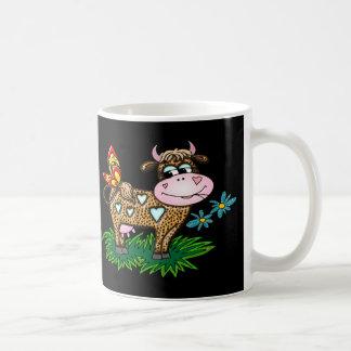 Cheetah Cow & Butterfly Coffee Mug