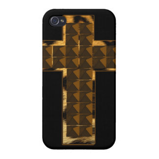 Cheetah Cross Cover For iPhone 4
