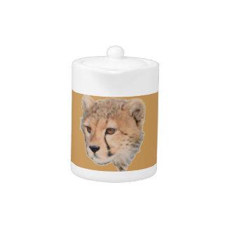 Cheetah Cub Tea Teapot