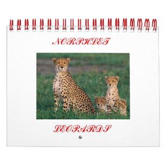 cheetah-cubs, NORPHLET, LEOPARDS Calendar