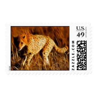 Cheetah Dash - Postage Stamp