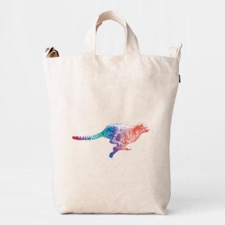 Cheetah Duck Bag