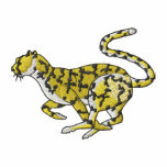 Cheetah Embroidered Hoody