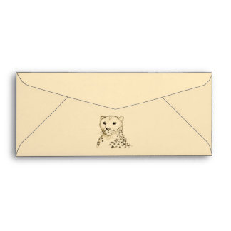 Cheetah. Envelope
