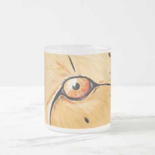 Cheetah eye mugs