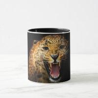 Cheetah Face Coffee Mug