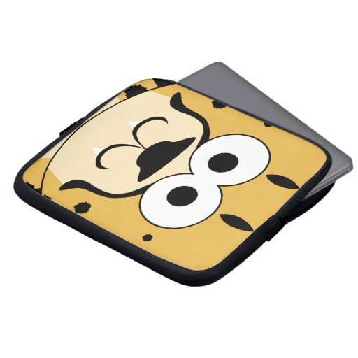Cheetah Face Laptop Sleeves