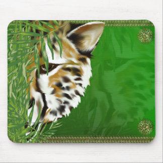 Cheetah Face Mousepad