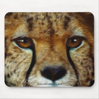 CHEETAH FACE Wildlife Mousemat Mouse Pad