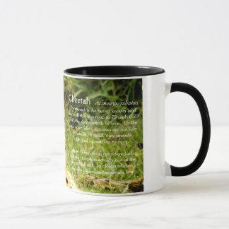 Cheetah Factoid Mug