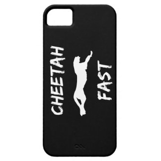 Cheetah Fast Funny Running iPhone 5 Phone Case