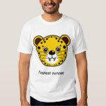 Cheetah: Fastest runner. T-Shirt