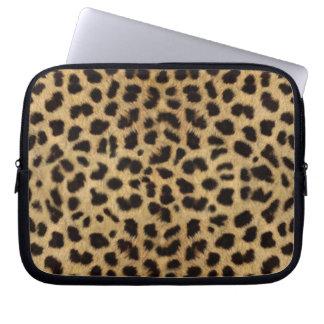 Cheetah Fur Pattern, Cheetah Print Computer Sleeve