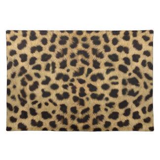 Cheetah Fur Pattern, Cheetah Print Place Mat