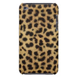CHEETAH FUR PHOTO PRINTED BARELY THERE iPod COVERS