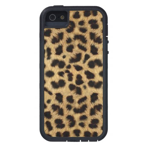 CHEETAH FUR PHOTO PRINTED CASE FOR iPhone 5