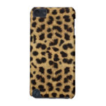 CHEETAH FUR PHOTO PRINTED iPod TOUCH 5G CASES