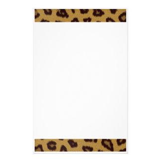 Cheetah Fur Print Stationery
