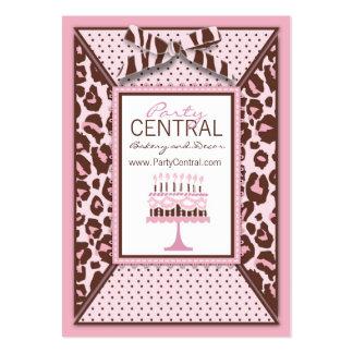 Cheetah Girl Business Card