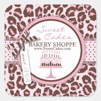 Cheetah Girl Business Sticker 2