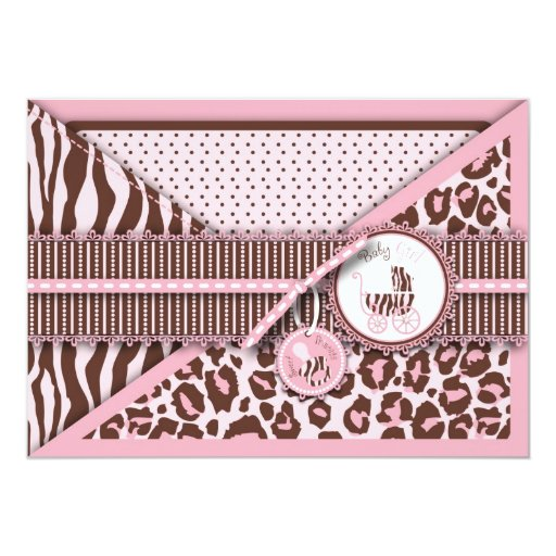 Cheetah Girl Card Pink
