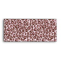 Cheetah Girl Envelope Pink