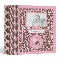 Cheetah Girl Photo Album Pink B Binder