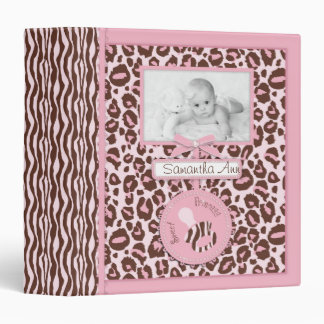 Cheetah Girl Photo Album Pink B Binder